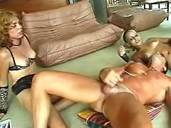 Shemales jizz after sex with stud