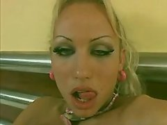 Crazy orgy with tgirls and cumshot